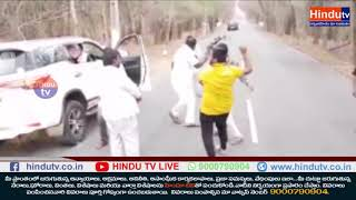 Hayathnagar Corporator Road side Dance at Srisailam Forest  News Update  Hindu TV –Kurnool District