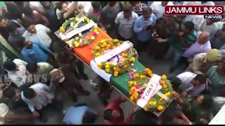 Wreath laying ceremony of martyr Jaki Sharma