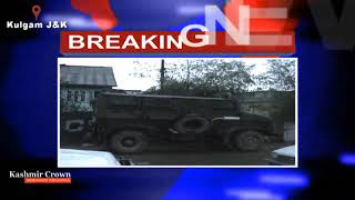 Army man and civilian killed, two troopers wounded in ongoing Kulgam gunfight; Internet snapped