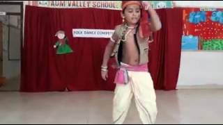 #Folk Dance Competition # Aum Valley School#Titilagarh