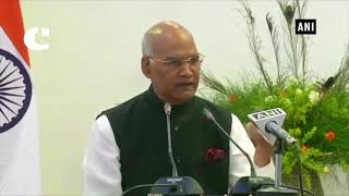President Ram Nath Kovind addresses Indian community in Zambia