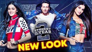 Student Of The Year NEW LOOK Unveiled | Tiger Shroff, Tara Sutaria, Ananya Pandey
