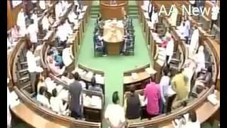 कपिल मिश्रा की AAP विधायको ने कर दी पिटाई  Kapil mishra beaten by aap MLAs