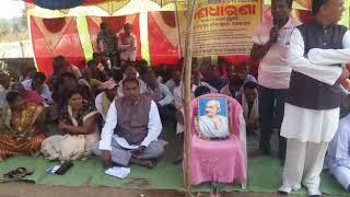 strike by farmers at Golamunda, Kalahandi