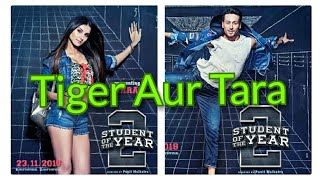 Student Of The Year 2 Official Poster Review l Introducing Tiger And Tara Sutaria