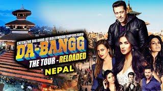 Salman Khan DABANGG TOUR On Take Over NEPAL | Katrina Kaif, Jacqueline, Daisy, Prabhu deva