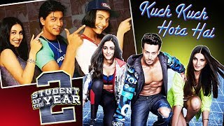 Student Of The Year 2 Poster Similar To Kuch Kuch Hota Hai