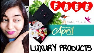 Vanity Cask April 2018 - FREE GIVEAWAY - FREE LUXURY PRODUCTS | JSuper Kaur
