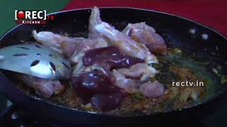 CHICKEN CURRY FRY WITH GINGER AND GARLIC PASTE RECIPE II HOW TO COOK NON VEG FOOD|rectv india