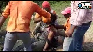 Accident || Recovered by Railway Staffs, Chennai || lady injured in mud