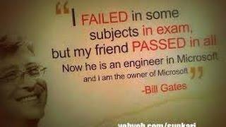 Bill gates quotes in Marathi. Spoken English in Marathi.