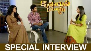 Krishnarjuna Yuddham Special Interview - Nani, Anupama Parameswaran