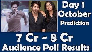 October Movie 1st Day Prediction I Audience Poll Results
