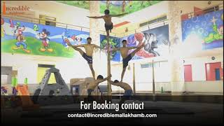 Incredible Mallakhamb Bangkok Thailand rehearsal