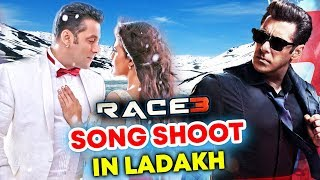 RACE 3 Last Song To Be SHOT In Ladakh | Salman Khan, Jacqueline Fernandez