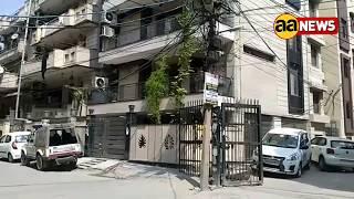 News Flash DELHI Model Town NIA Raid 1st Visual