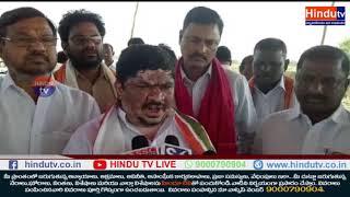 EX MP PONNAM PRABHAKAR demand for justice on Thotapally reservoir//NEWSUPDATE HINDUTV