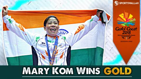Mary Kom Wins Gold At Commonwealth Games!