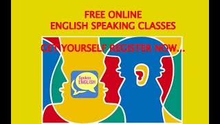 Learn English Online || Free Course || Free English Speaking Course