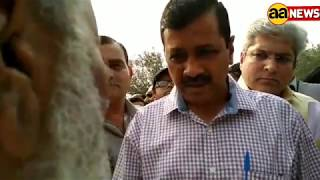 Kejariwal Kathhputali Colony Phunche : Kejariwal at Puppet Collony