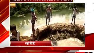 हाथरस - नहर से निकले पानी ने सैंकड़ों बीघा फसल को किया जलमग्न - tv24