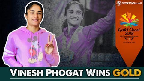 Vinesh Phogat Wins Gold At CWG