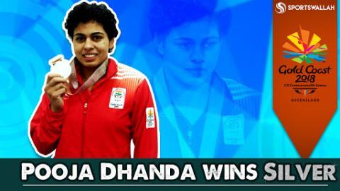 Pooja Dhanda Wins Silver At CWG