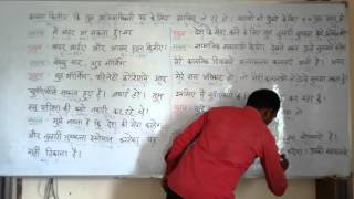 Interview in English ( Spoken ) THough  Hindi. Grammar.