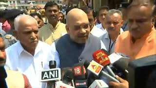 Standing in front of Sri Sri Sri Shivakumara ji feels like standing in front of God : Shri Amit Shah