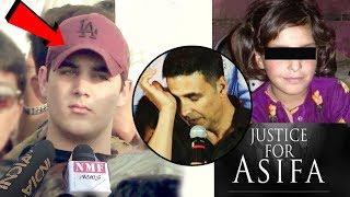Akshay Kumar Son Aarav EMOTIONAL Reaction On Asifa Kathua Case