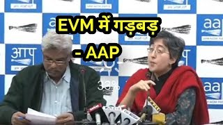 AAP Leader on malfunctioning of EVM why does vote go to BJP always and not any other party