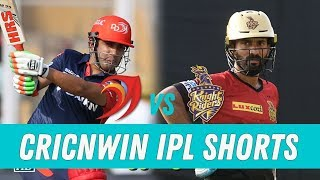 KKR vs DD - Match Preview | Cricnwin IPL Shorts |