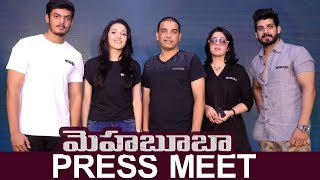 Mehbooba Movie Press Meet || Akash Puri , Puri Jagannadh, Charmikaur,Dil Raju
