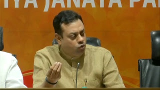 Press statement by Dr. Bizay Sonkar Shastri and Dr. Sambit Patra on Rahul Gandhi's farce fast