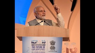 PM Modi's speech at the inauguration of the 16th International Energy Forum meeting in Delhi.