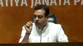 Dr Sambit Patra briefs media on 'Hindu terror' concocted by the Congress Party