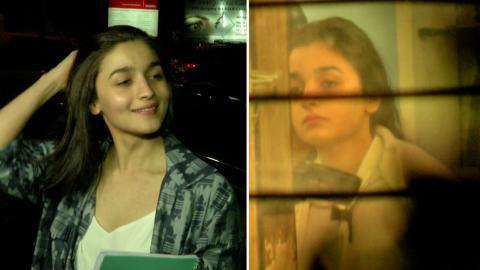 Alia Bhatt With Her Mother Soni Razdan Spotted At Salon In Juhu