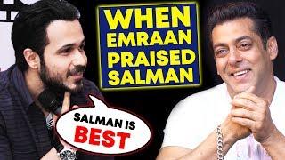 Salman Khan Is Very Encouraging, Says Emraan Hashmi