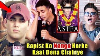 Akshay Kumar's Son Aarav SAD Reaction On Asifa Kathua Case, Rakhi Sawant Blasts Asifa Case Culprits