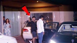 Shahid Kapoor Spotted At Ekta Kapoor's Office