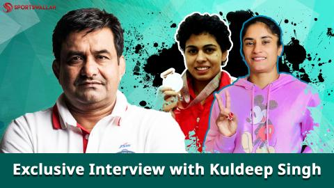 Exclusive- Kuldeep Singh speaks to Sportswallah