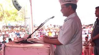 Arvind Kejriwal at Haryana Bachao Raily Hisar Harayana