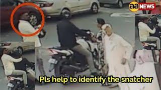 Pls help to identify the snatcher by circulating this footej. Area Ashok Vihar Delhi