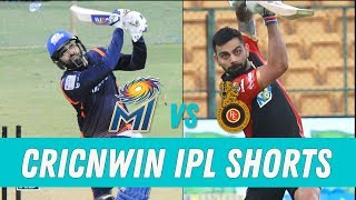 Royal Challengers Bangalore vs Mumbai Indians Match Preview | RCB vs MI | Cricnwin IPL Shorts