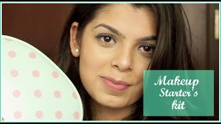 Makeup starter's kit for beginners   Affordable products for Makeup beginners   Beginner Series #1