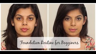 Foundation Routine for Beginners | Indian Skintone | Beginners Series #2