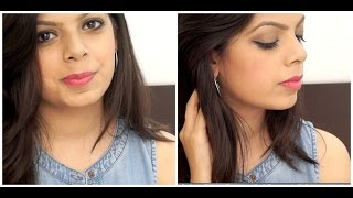 Full Face of Makeup Using Products Under Rs.100 | Affordable Beauty