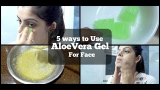 5 Ways to use Aloe Vera Gel for Face | Patanjali Aloevera Gel | Home Remedies