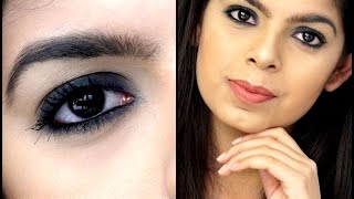 Smokey Eye using ONLY Kajal | Beginner Friendly | Makeup Tutorial