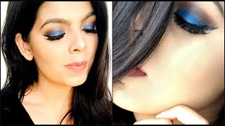 Blue Smokey Eye | Party Makeup | Makeup Tutorial